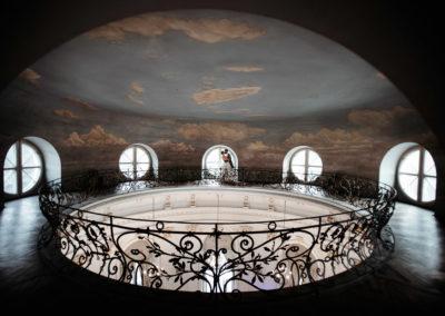 Wedding in Jablonna Palace, Poland