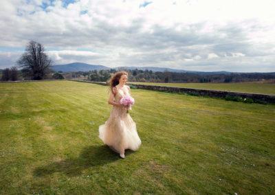 Wedding in Borris House, Ireland